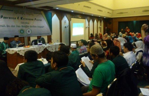 Kuliah Umum UNUSIA dan STAINU Jakarta Bahas Pancasila dan Kesadaran Politik