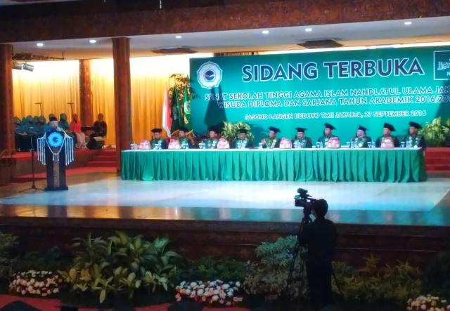 Pesan Rais Aam PBNU kepada Wisudawan-Wisudawati STAINU Jakarta