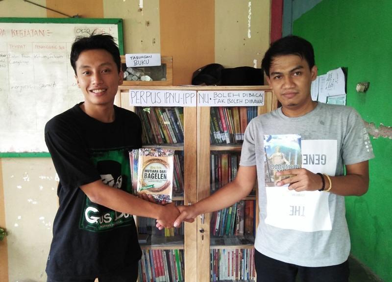 Pelajar NU Purworejo Rintis Perpustakaan Gratis