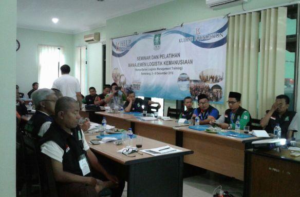 LPBINU Gelar Pelatihan Manajemen Logistik Kemanusiaan di Jawa Tengah