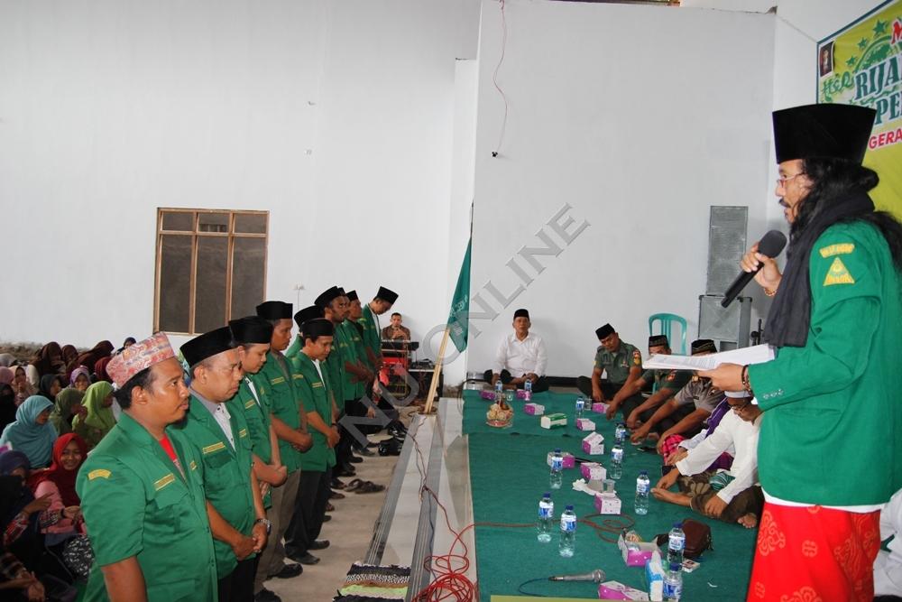 Dilantik, GP Ansor Dukuhturi Siap Kembangkan Produksi Sarung