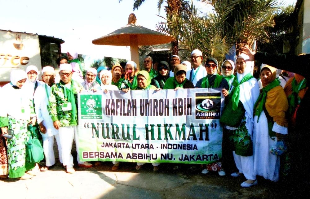 Awal 2017, ASBIHU NU Berangkatkan 7 Kelompok Jamaah Umroh