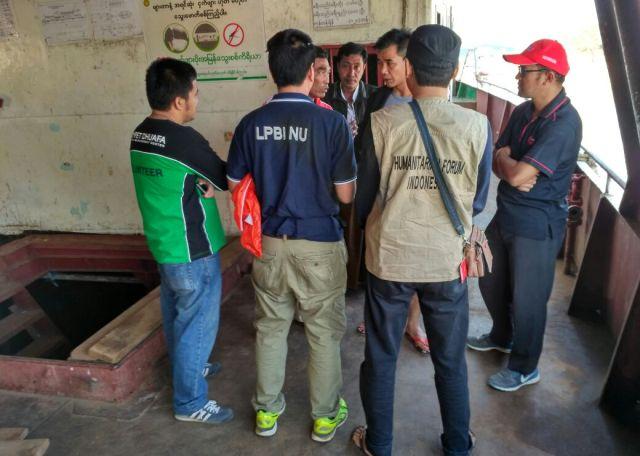 Misi Kemanusiaan, LPBINU Kirim Relawan ke Myanmar