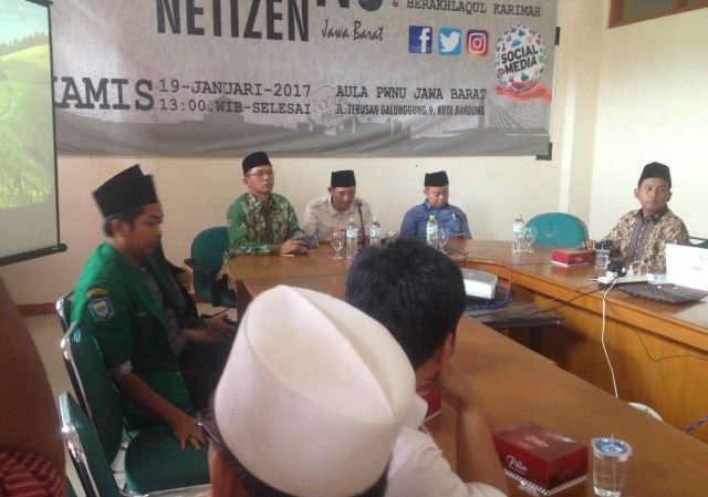 Pesan Ketua PWNU di Kopdar Netizen NU Jawa Barat