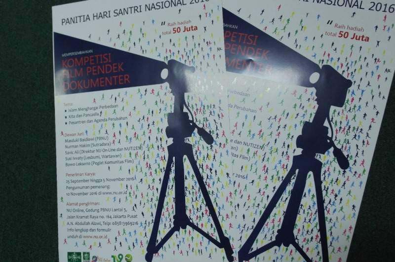 30 Januari, Panitia Umumkan Pemenang Kompetisi Film Dokumenter Hari Santri