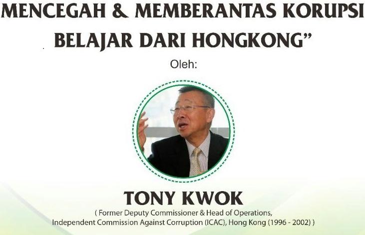 Prodi Hukum Unusia Undang Mantan Pimpinan KPK Hongkong