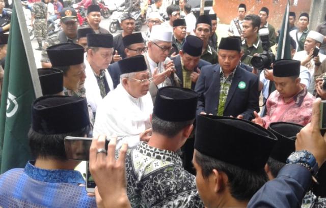 Kiai Ma'ruf Amin: Tanggung Jawab NU Kian Besar