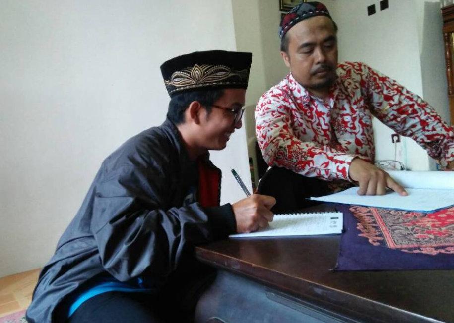 Ramadhan, IPNU Kecamatan Banyuwangi Sowan Sesepuh