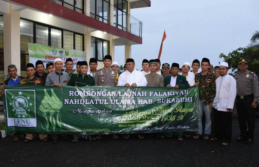 PCNU Kabupaten Sukabumi Akhiri Gema Syiar Ramadhan dengan Dirasah Falakiyah