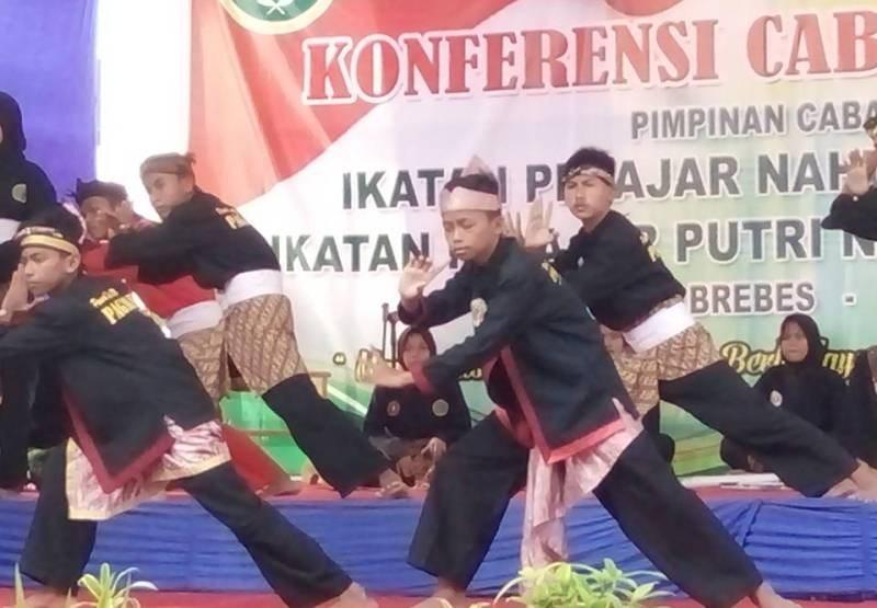 Ketua PCNU Ajak Pelajar NU Brebes Kembangkan Silat Pagar Nusa
