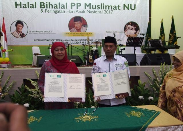 Muslimat NU Kerja Sama Pembentukan JPZIS dengan LAZISNU