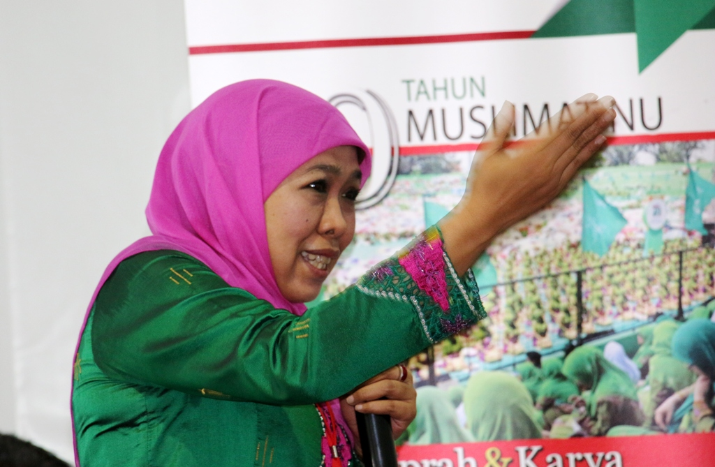 Menteri Khofifah Dorong Pesantren Perangi Narkoba