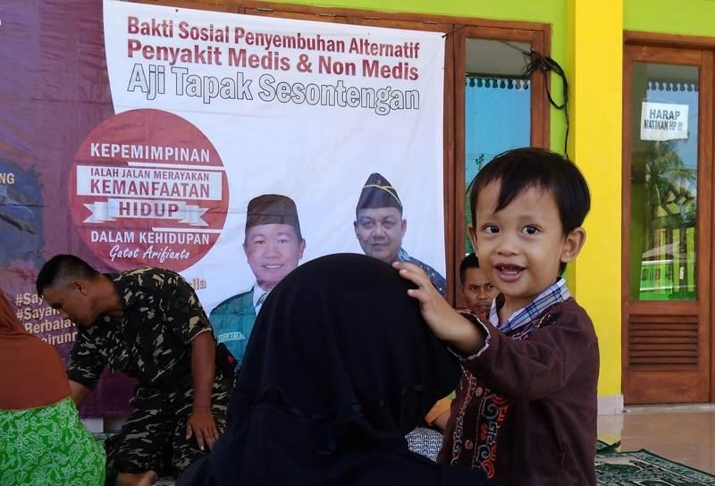 Banser Lampung Bantu 428 Warga dan Sekolah