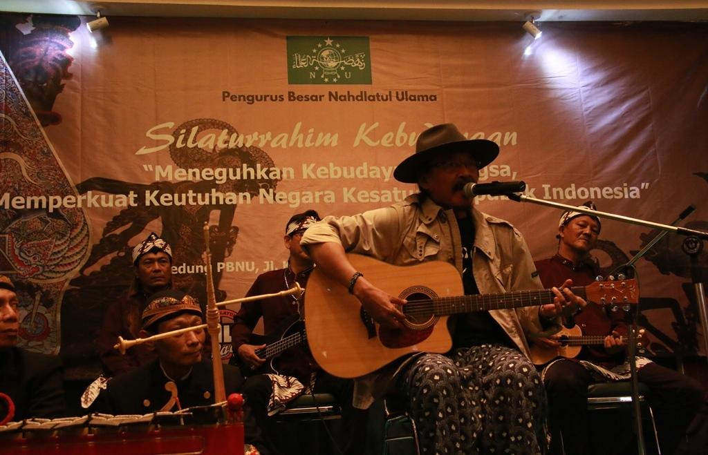 Sujiwo Tejo: NU Jangan Andalkan Donatur untuk Kebudayaan