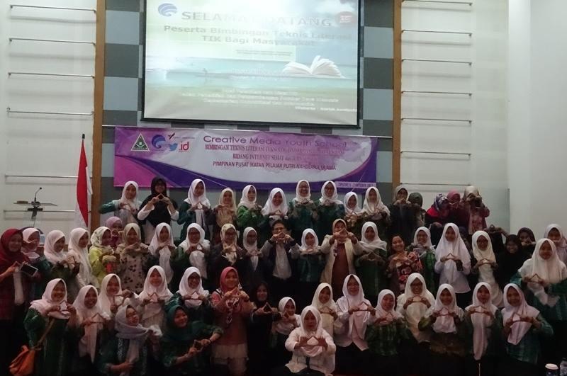 Fasilitasi Bakat Pelajar, PP IPPNU Gelar Pelatihan Media Kreatif dan Sehat