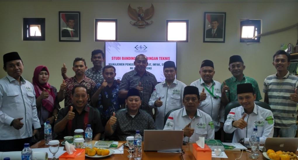 Setda Pemkab Kepulauan Sula Studi Banding ke NU Care-LAZISNU