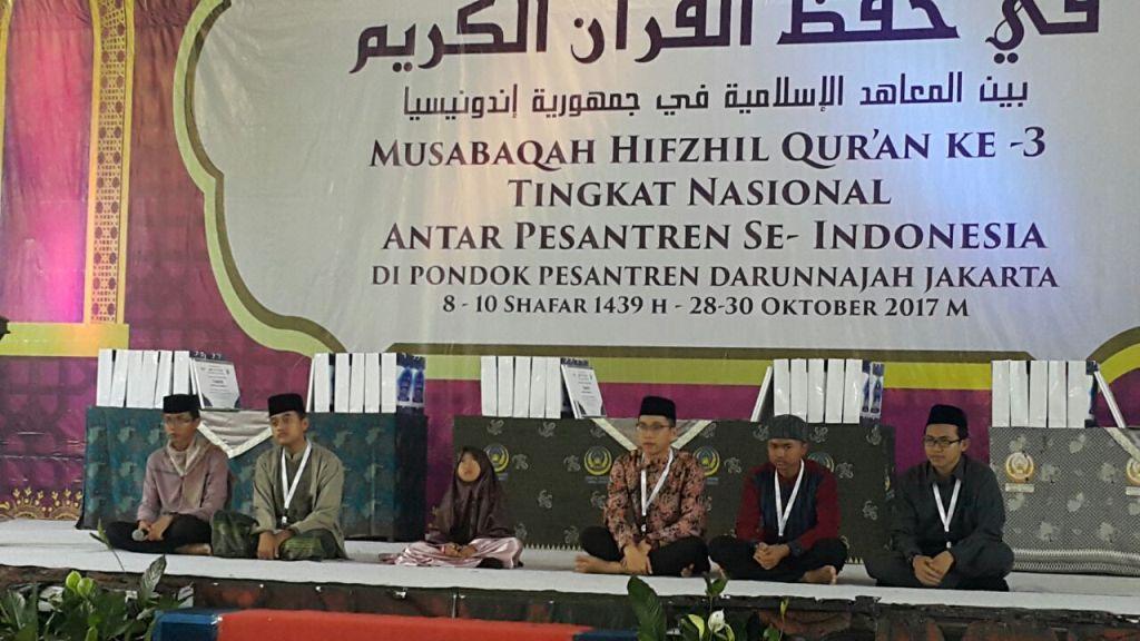 Ini Para Pemenang Musabaqah Hifzhil Qur'an Nasional Ketiga