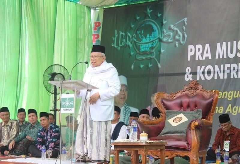 Kiai Maruf Amin: Sikap Intoleran dan Kesenjangan Ekonomi Jadi Tantangan Bangsa Indonesia Kini