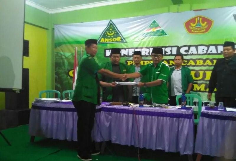 Pimpin GP Ansor Madiun, Gus Anam Siap Rangkul Seluruh Kader