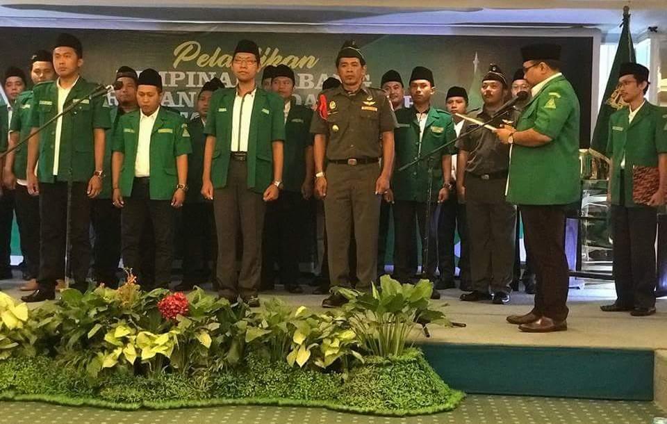Pesan Gus Yaqut Saat Lantik PC GP Ansor Kota Surabaya