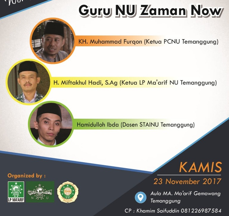 Workshop Literasi Temanggung, Cetak Guru NU Zaman Now