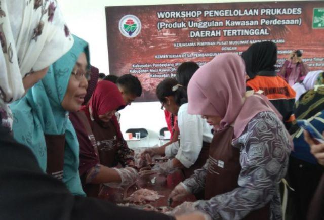 Muslimat NU Tumbuhkan Wirausaha di Desa Tertinggal