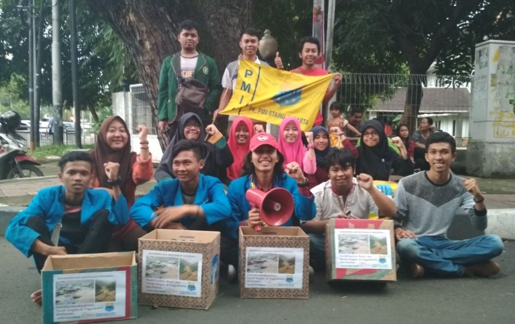 Mahasiswa Unusia Turun ke Jalan Bantu Korban Bencana Pacitan dan Yogyakarta