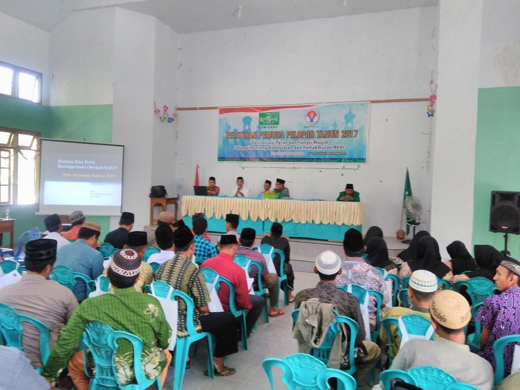 Apresiasi Pelatihan Pemuda, PCNU Pohuwato Siap Adopsi Program LTM PBNU Itu