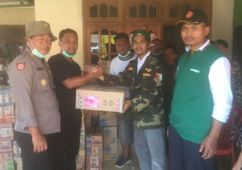 Manfaatkan Tempat Wisata, GP Ansor Poncol Himpun Bantuan untuk Korban Pacitan