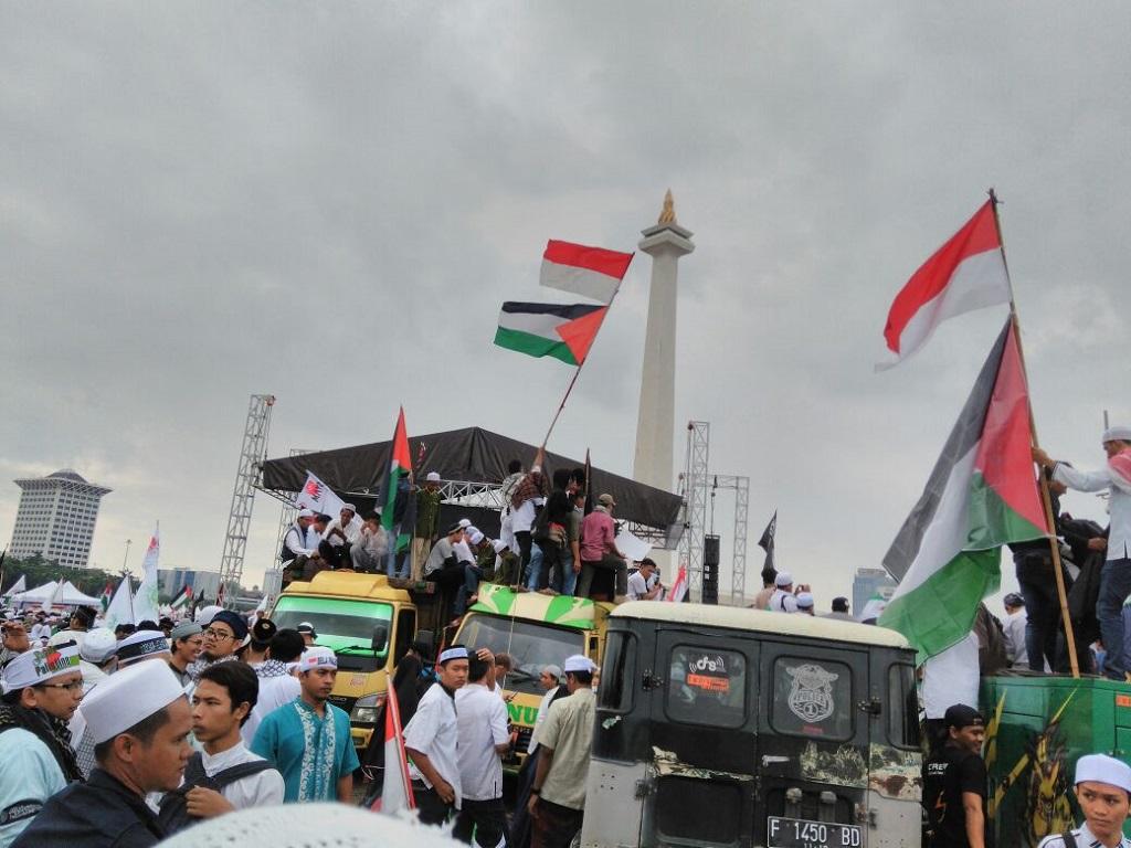 Aksi Bela Palestina, Ketua Pelaksana: Kita Tolong Masjid Al-Aqsa