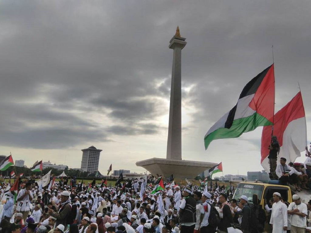 Aksi Bela Palestina dan Sisi Lainnya
