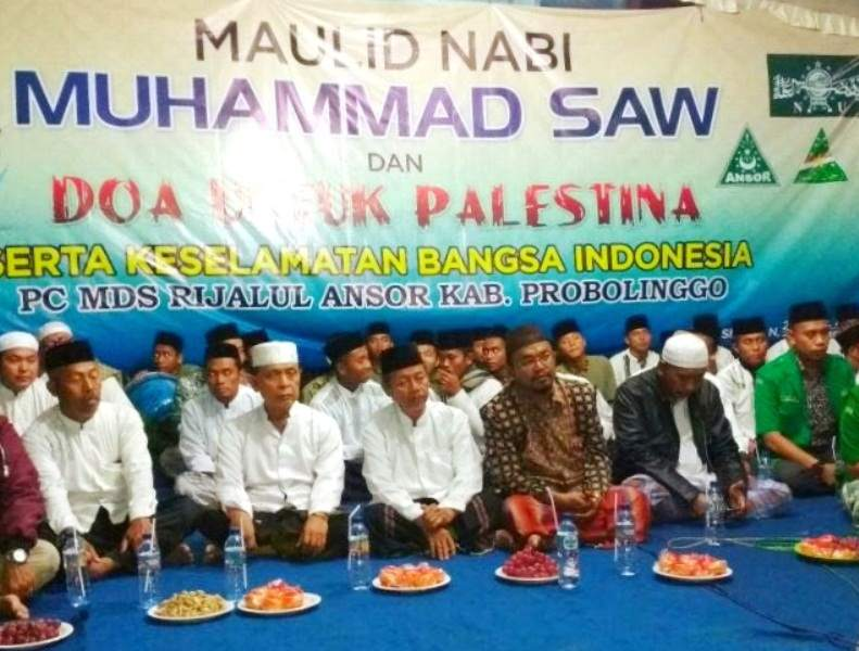 Peduli Palestina, GP Ansor Probolinggo Doa Bersama
