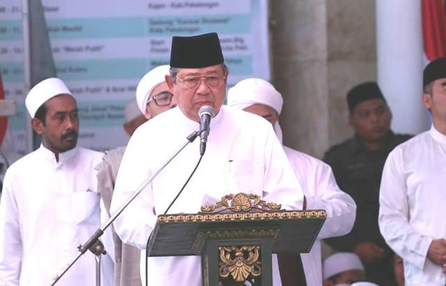 Hadir di Majelis Habib Luthfi, SBY Ajak Jamaah Teladani Rasulullah
