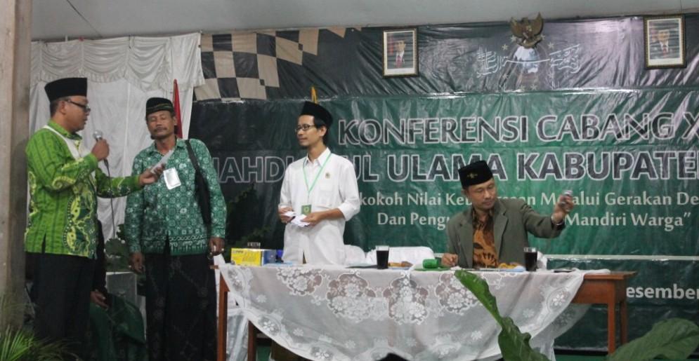 Terpilih Kembali Ketua Demisioner Tanfidziyah PCNU Boyolali