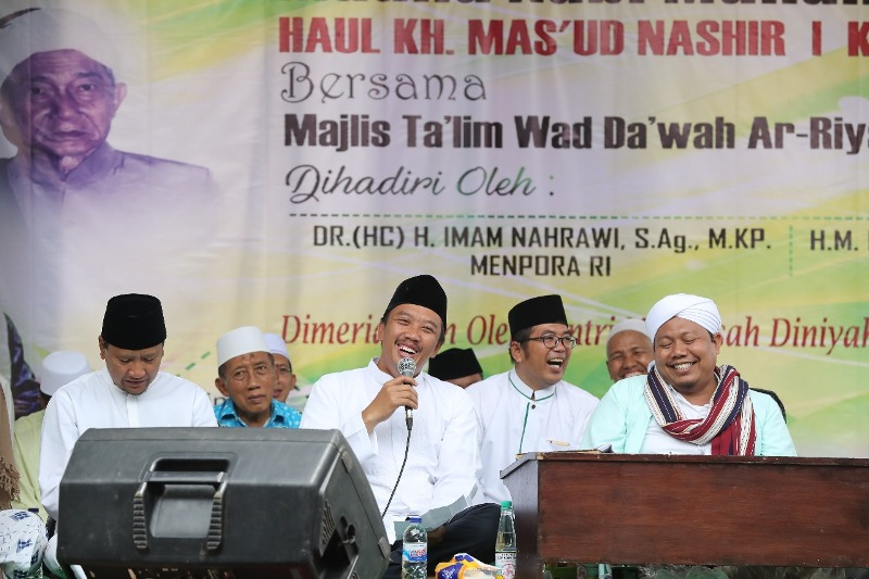 Hadiri Peringatan Maulid Nabi di Pasuruan, Menpora Ingatkan Pentingnya Bershalawat