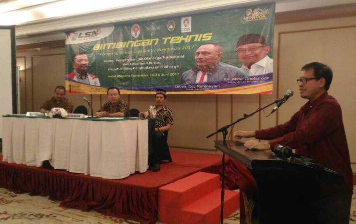 Kemenpora dan RMI PBNU Gelar Bimbingan Teknis Liga Santri Nusantara 2017