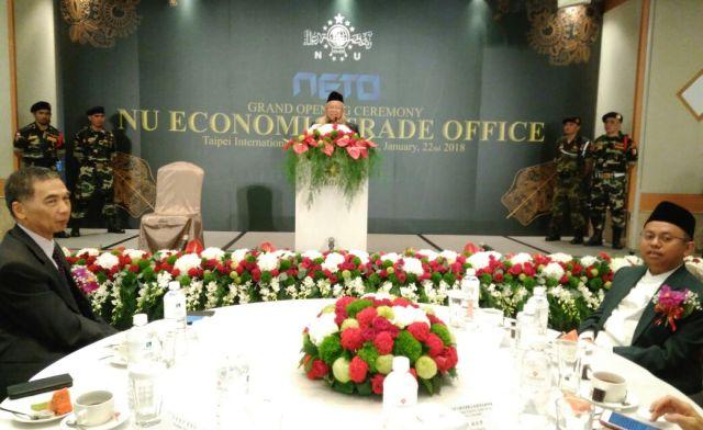 Rais 'Aam Resmikan Kantor Dagang dan Ekonomi NU di Taiwan
