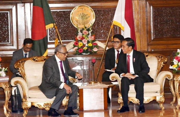 Presiden Bangladesh Harap Indonesia Bantu Proses Pemulangan Rohingya