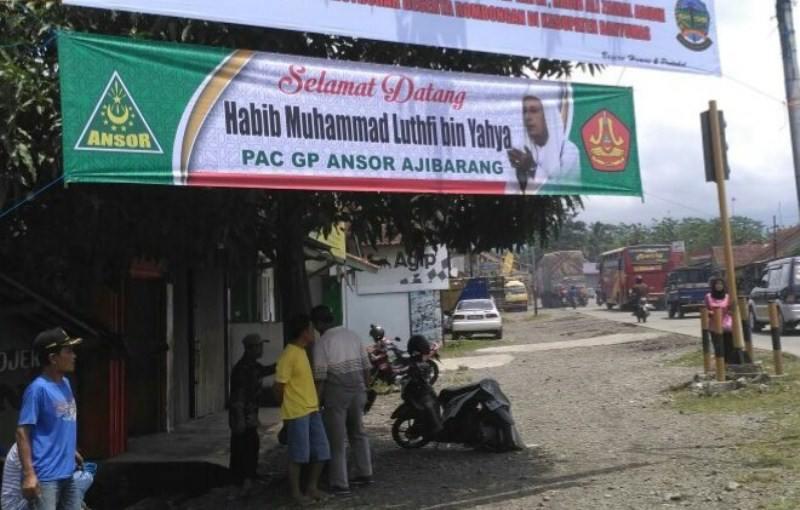 Banser Ajibarang Siap Kawal Habib Luthfi Malam Ini