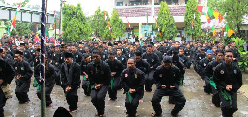 Ratusan Anggota Pagar Nusa Hadiri Pelantikan, Siap Jaga Perdamaian