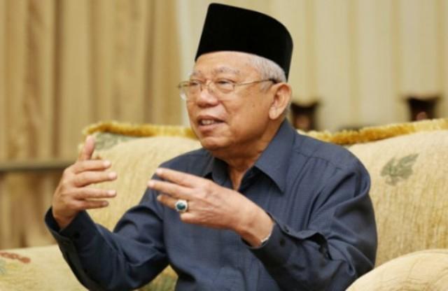 KH Ma'ruf Amin Sayangkan Penyebar Hoaks Gunakan Kata 'Muslim'