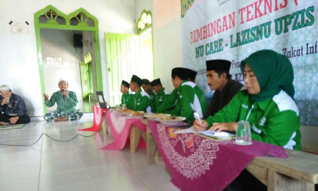 Bimbingan Zakat NU Mesuji Libatkan Aparatur Desa