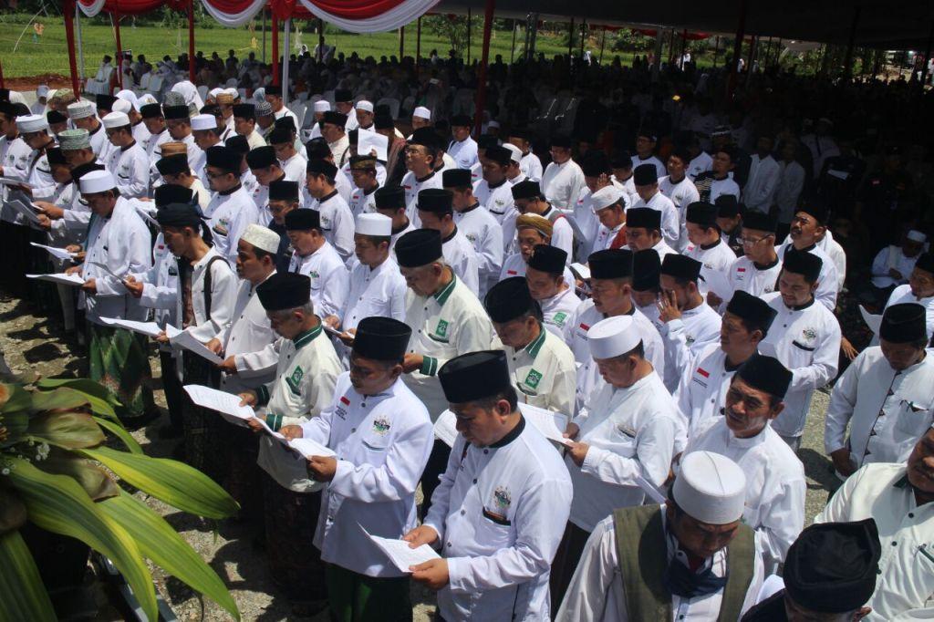 Pengurus Tarekat NU Se-Jawa Barat Dilantik Serentak