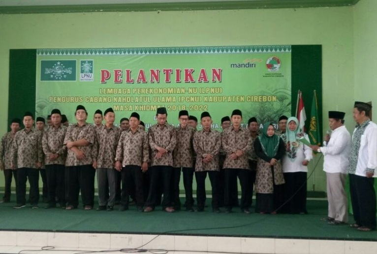 Dilantik, LPNU Kabupaten Cirebon Luncurkan Dua Program Unggulan