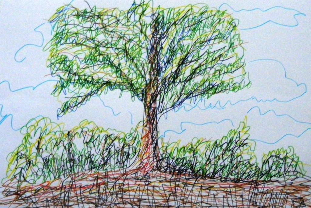Pohon-Pohon Bersembahyang
