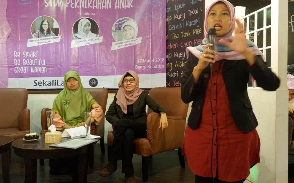 Pernikahan Anak di Indonesia Masih Memprihatinkan