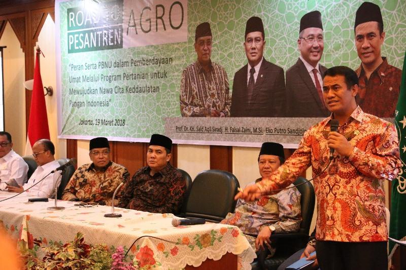 Menteri Pertanian Sebut Swasembada Jagung Berkat PBNU