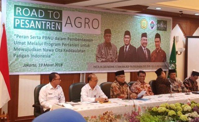 PBNU dan Pemerintah Optimis Swasembada Jagung 100.000 Hektar