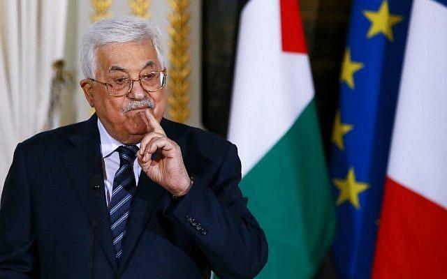 Abbas Salahkan Hamas atas Serangan Konvoi Perdana Menteri Rami