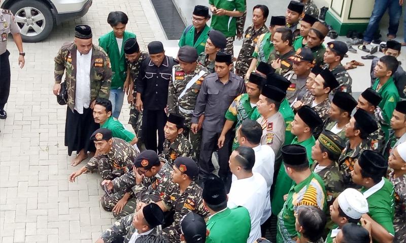 Rijalul Ansor Jakarta Timur Siap Jihad Lawan Hoaks
